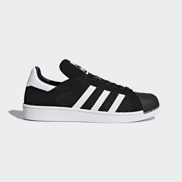 adidas Superstar Primeknit Shoes - Black  047b7dc8d