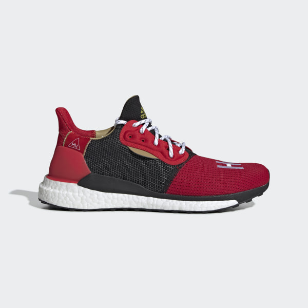 online retailer a30e6 65df0 CNY Solar Hu Glide sko Red  Black  White EE8701