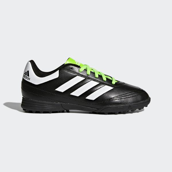 Zapatillas de fútbol para césped artificial Goletto 6 CORE BLACK FTWR  WHITE SOLAR GREEN 0266a7540dc7e