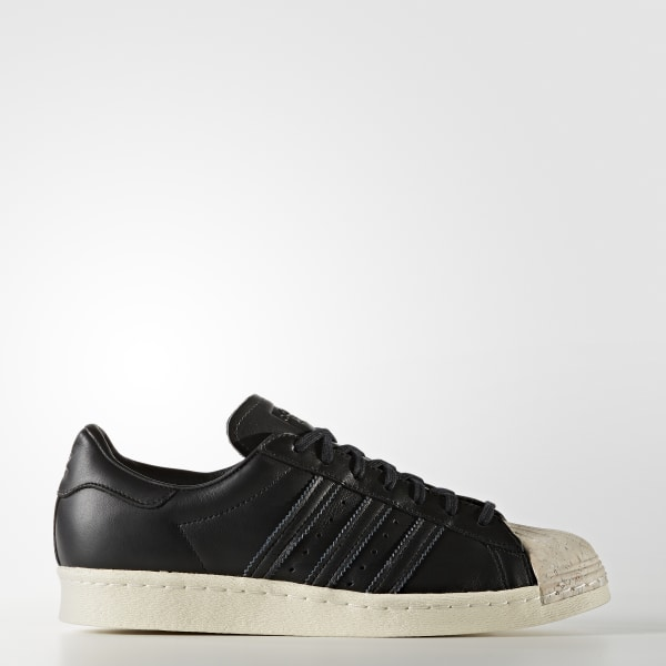 2ee6dffcf09 Superstar 80s Shoes Core Black   Core Black   Off White BY8707