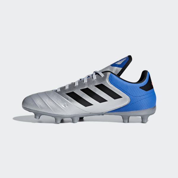 separation shoes 628f8 c0c73 Copa 18.3 Firm Ground Boots Silver Met.  Core Black  Football Blue DB2463
