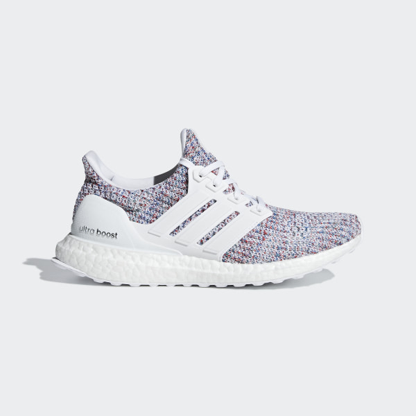 22701e8a3 Ultraboost Shoes Ftwr White   Ftwr White   Active Red DB3211