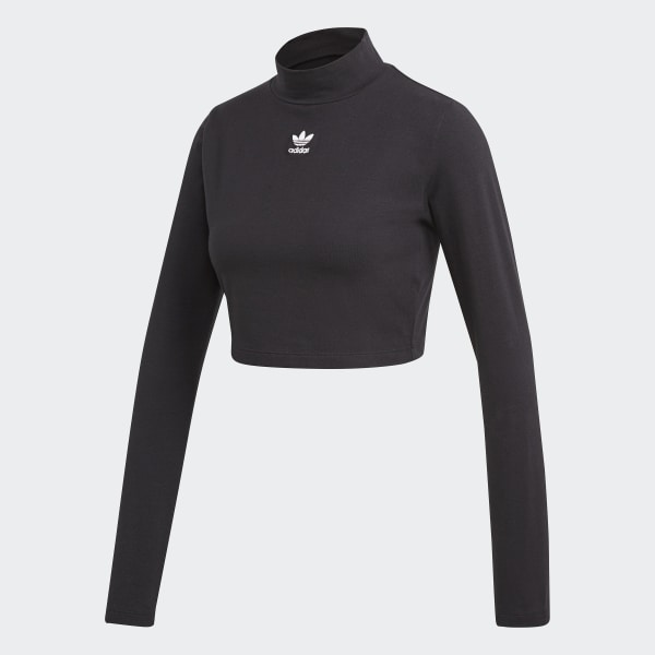 a44499fa0f0ca8 adidas Styling Complements Crop Top - Black