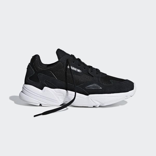 cf2720d8c2a16e Falcon Shoes Core Black   Core Black   Cloud White B28129