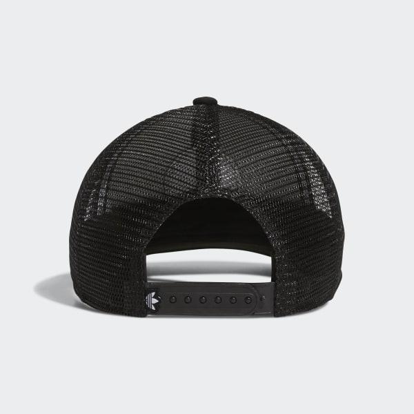 adidas Circle Mesh Snapback Hat - Black  ddbc9aed1d3e