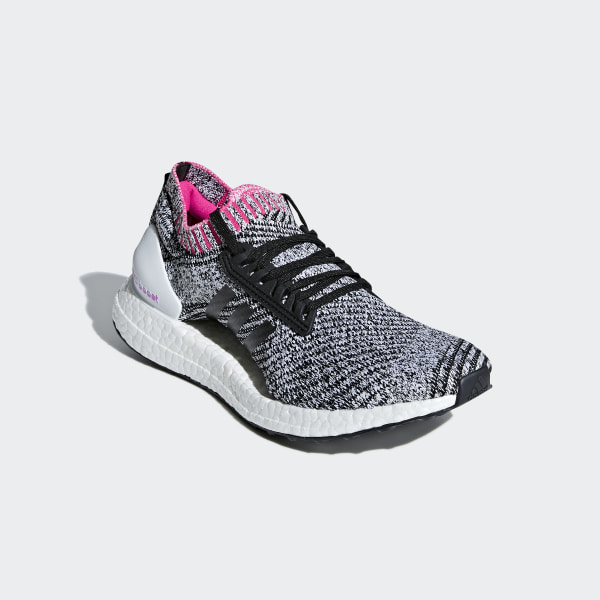 67385310e03 Ultraboost X Shoes Cloud White   Core Black   Shock Pink BB6524