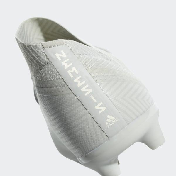 super cute a4418 3441d Nemeziz 18.3 Firm Ground Boots Ash Silver  Ash Silver  White Tint DB2353