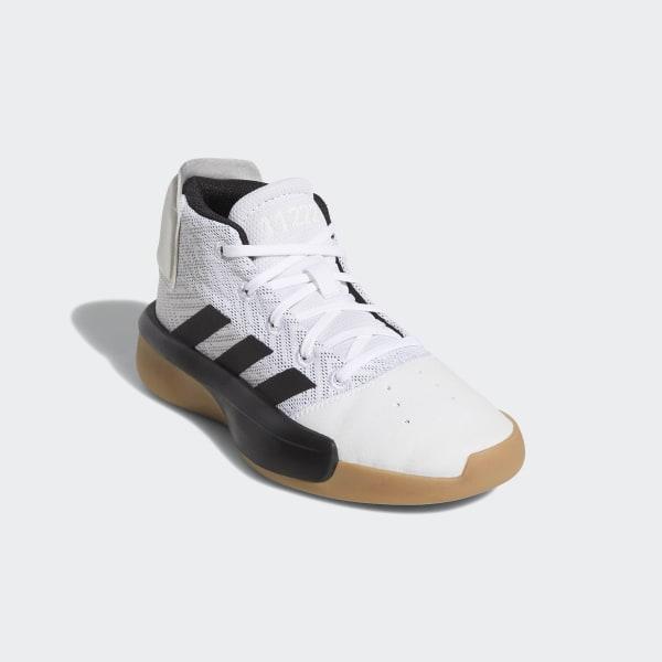 Scarpe da basket Pro Adversary 2019 Ftwr White   Core Black   Grey Four  BB9124 a0a810bd773