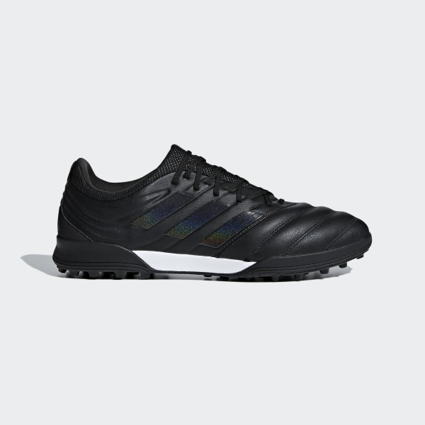 47e03a2c5c4056 Copa 19.3 Turf Shoes Core Black   Core Black   Grey D98063