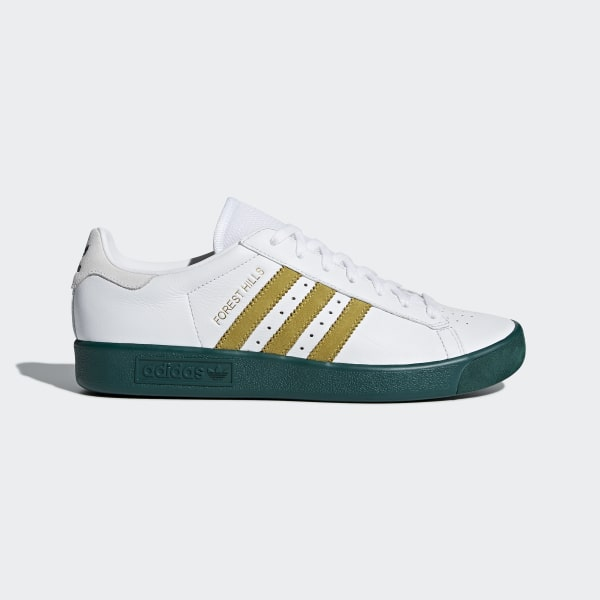 info for a7942 8dcc4 Forest Hills Shoes Ftwr White  Gold Met.  Collegiate Green AQ0921