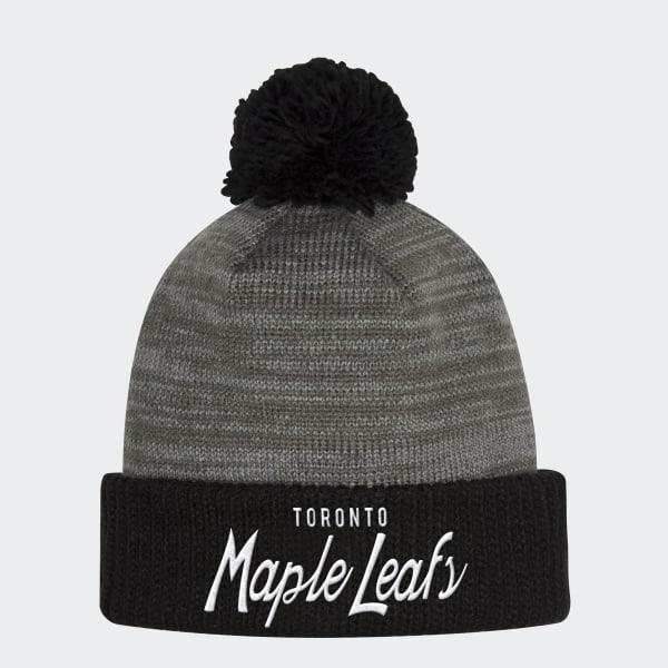 adidas Maple Leafs Cuffed Pom Beanie - Nhltml  3ff60e9fe20c