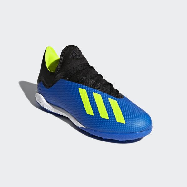 X Tango 18.3 Turf Fotbollsskor Football Blue   Solar Yellow   Core Black  DB1955 5d72f8d0cfac7