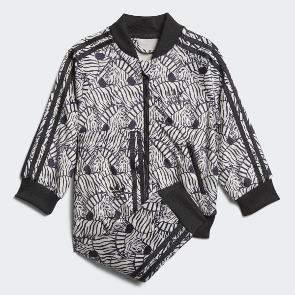 Trainingsanzug Deutschland Sst Beige Zebra Adidas STxZvqwAz