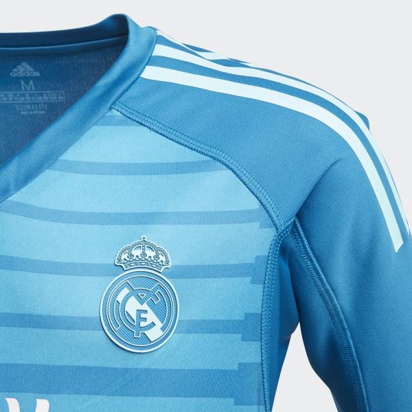 6972cceba Real Madrid Away Goalkeeper Jersey Bold Aqua   Unity Blue CG0578