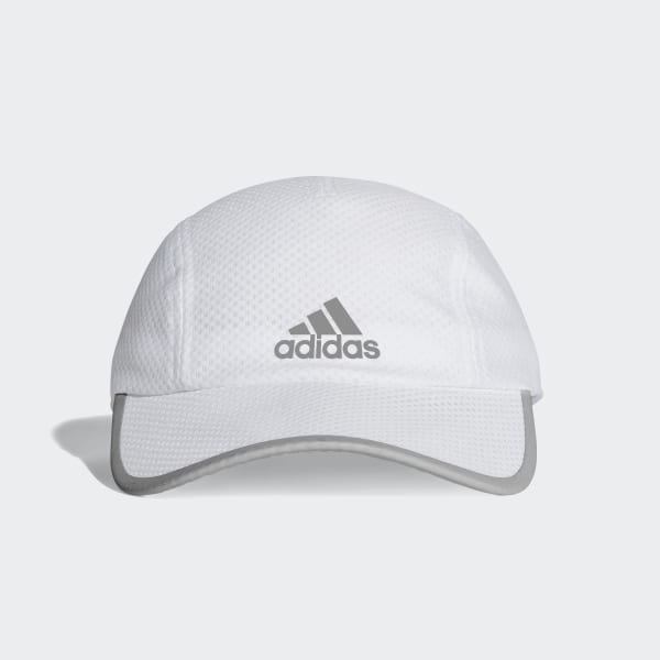 0c5006a052d Climacool Running Cap White White White Reflective CF9627