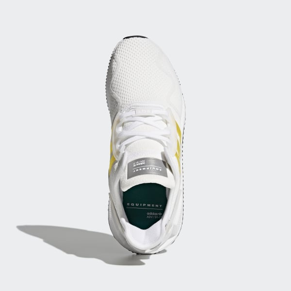 low cost ef464 3b06d EQT Cushion ADV Shoes Ftwr WhiteEqt YellowSilver Metallic CQ2375