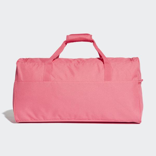 Linear Performance Duffel Bag Medium Real Pink   White   White DM7648 29d5863b268b7