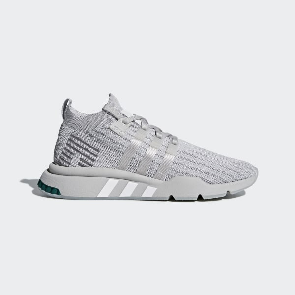 newest collection 450f0 b622f EQT Support Mid ADV Primeknit Shoes Grey Two  Silver Metallic  Grey One  B37372