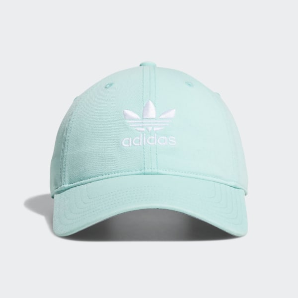 be04aff5fd0 adidas Relaxed Strapback Cap - Turquoise