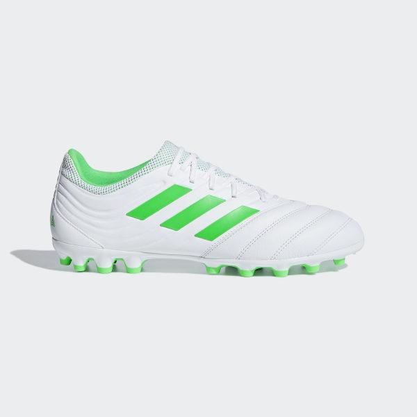 best cheap f82f8 3dc31 Scarpe da calcio Copa 19.3 Artificial Grass Ftwr White   Solar Lime   Ftwr  White F35775