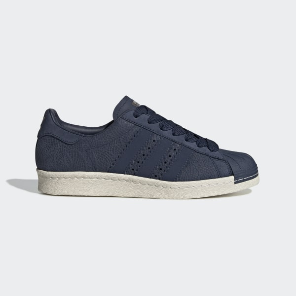 newest 85426 e1d3d Superstar 80s Shoes Collegiate Navy  Collegiate Navy  Off White CG5932