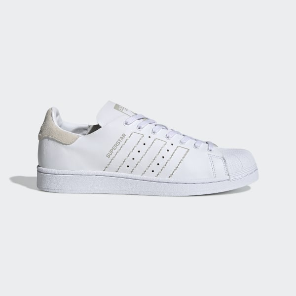 Tênis Superstar Decon FTWR WHITE CHALK WHITE CHALK WHITE BY8699 d489456048954