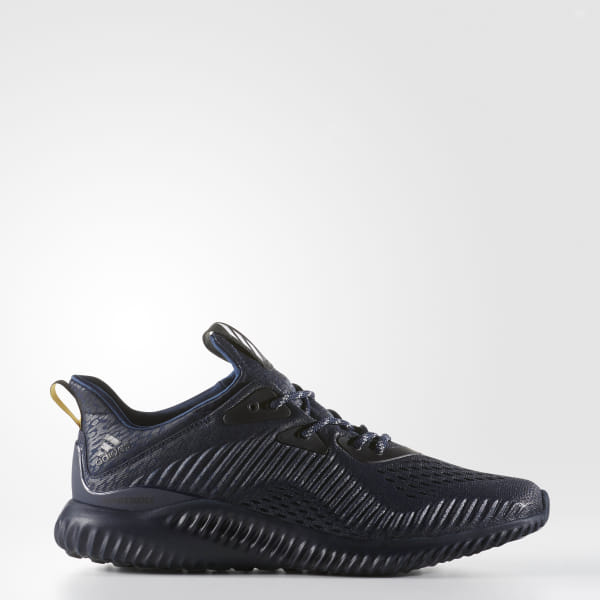 size 40 02df0 89d95 Alphabounce AMS Shoes Mystery Blue  Collegiate Navy  Core Black BW1127