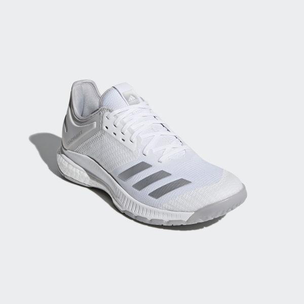bb2083d8b7a62c Crazyflight X 2.0 Shoes Cloud White   Silver Metallic   Grey CP8901