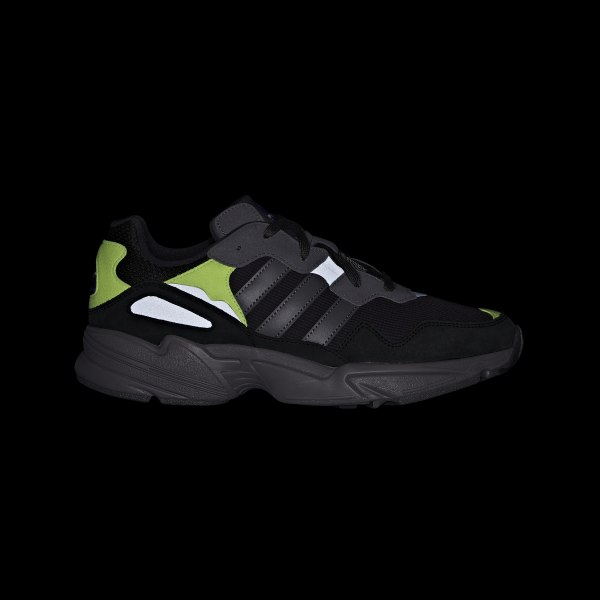 new product f4679 f191c Chaussure Yung-96 Carbon  Grey Four  Solar Yellow F97180