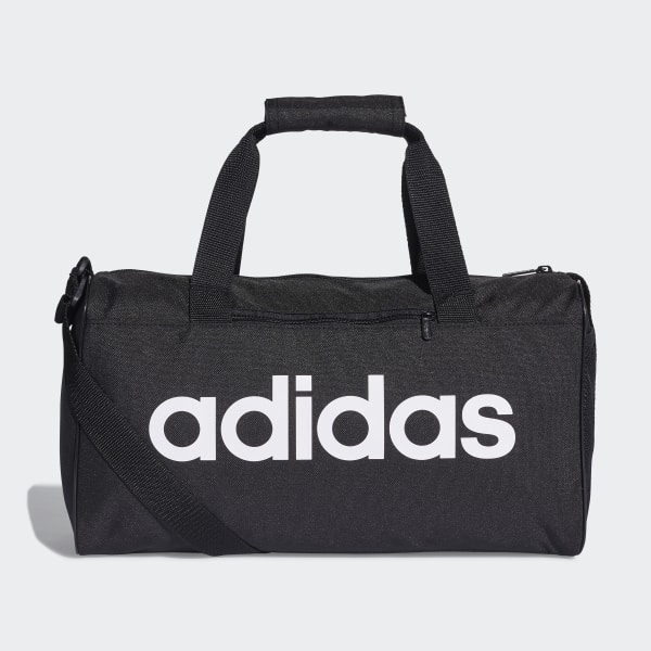 Linear Core Duffel Bag Extra Small Black   Black   White DT4818 f149fc258969a