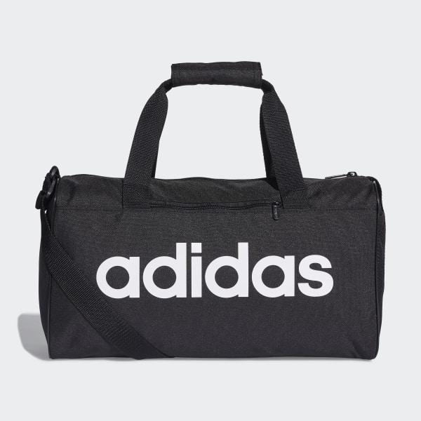 Linear Core Duffel Bag Extra Small Black   Black   White DT4818 2989f2ea3f6fc
