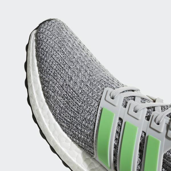 b4bdfa686 Ultraboost Shoes Grey Two   Shock Lime   Grey Four F35235