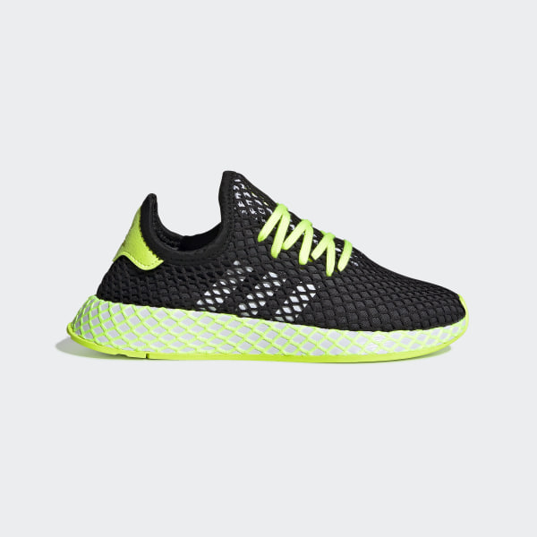 more photos 6610c 952bc Chaussure Deerupt Runner Core Black  Hi-Res Yellow  Ftwr White DB2780