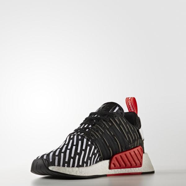 521b1ed9b NMD R2 Primeknit Shoes Core Black   Core Black   Cloud White BB2951