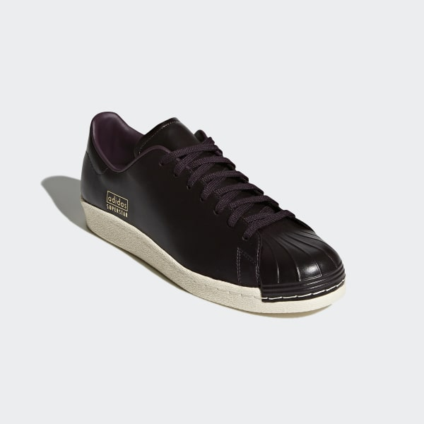 12823a228604 Superstar 80s Clean Shoes Brown Noble Red Noble Red Urban Trail CQ2170