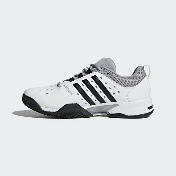 finest selection e10c8 97032 Barricade Classic Wide 4E Shoes Cloud White  Core Black  Mid Grey BY2920
