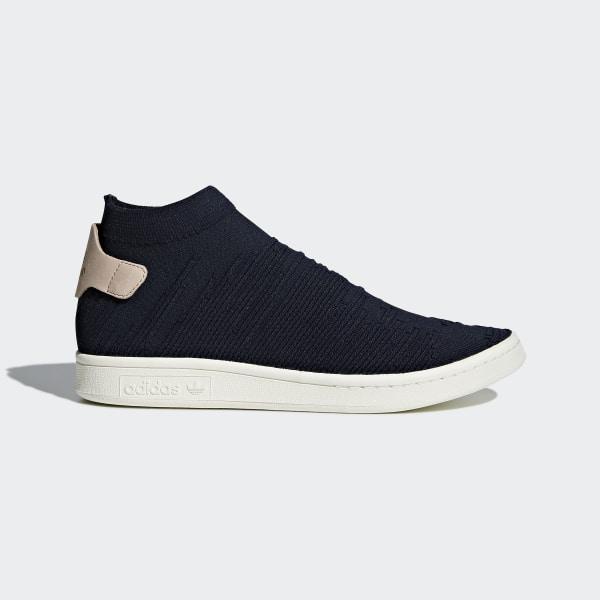 Sapatos Stan Smith Sock Primeknit Black Legend Ink Ash Pearl CQ2901 57f1ead7e2a77