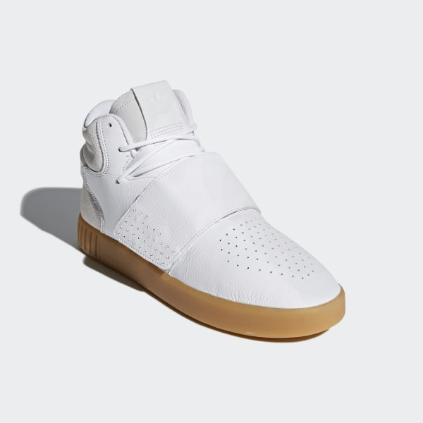 purchase cheap 7f8a4 98f9a Chaussure Tubular Invader Strap Footwear White   Gum   Core Black BY3629