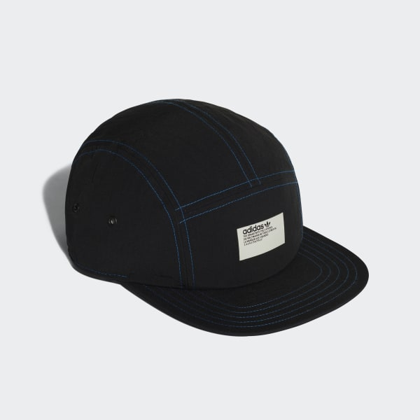 29ff2cd262577 adidas NMD 5-Panel Cap Black   Lush Blue DH4418