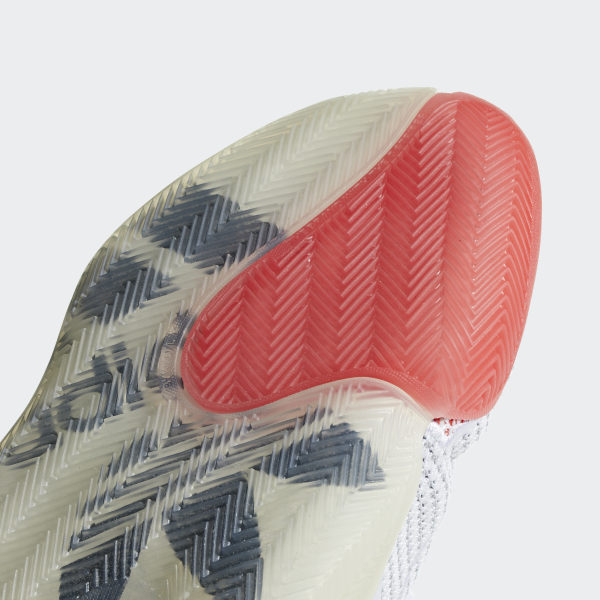 bb36b64d60f23 Crazy BYW X Shoes Cloud White   Collegiate Navy   Bright Red B42246