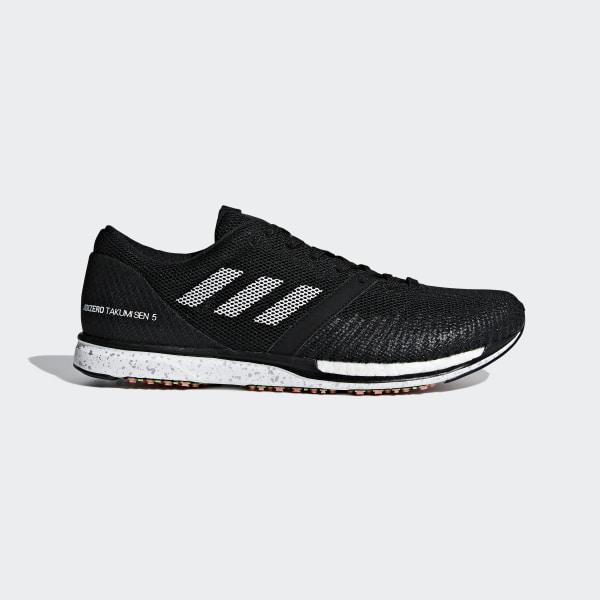 separation shoes f3c12 0728f Scarpe Adizero Takumi Sen 5 Core Black  Ftwr White  Carbon B37419