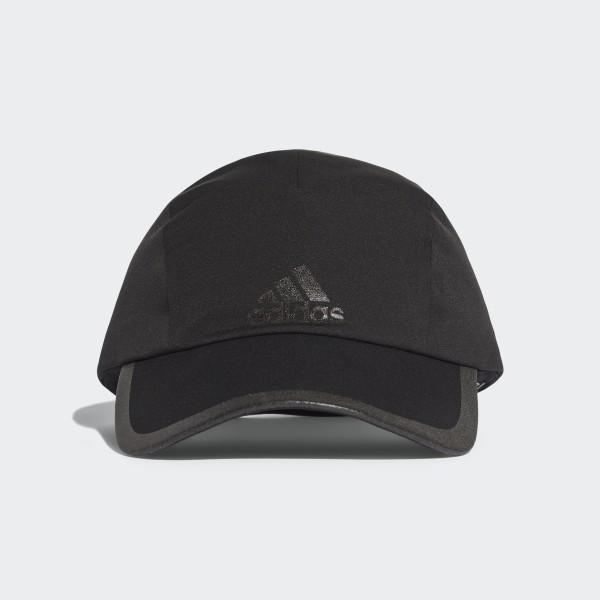 4db2c42b784 Climaproof Running Cap Black   Black   Black Reflective CF9611