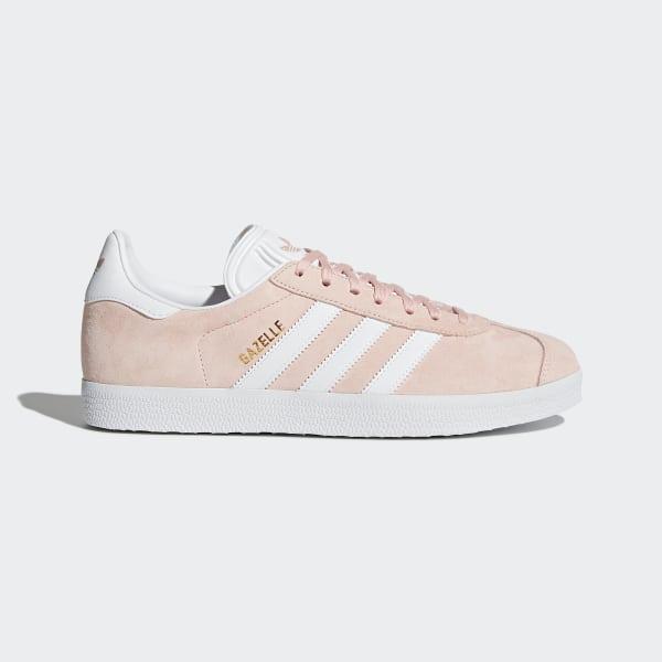 de9ea1ceb7e Gazelle Shoes Vapor Pink   White   Gold Metallic BB5472