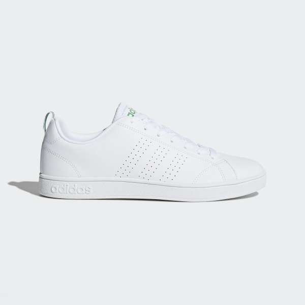 adidas Men s Advantage VS Clean Shoes - White  2a8170c3bd659