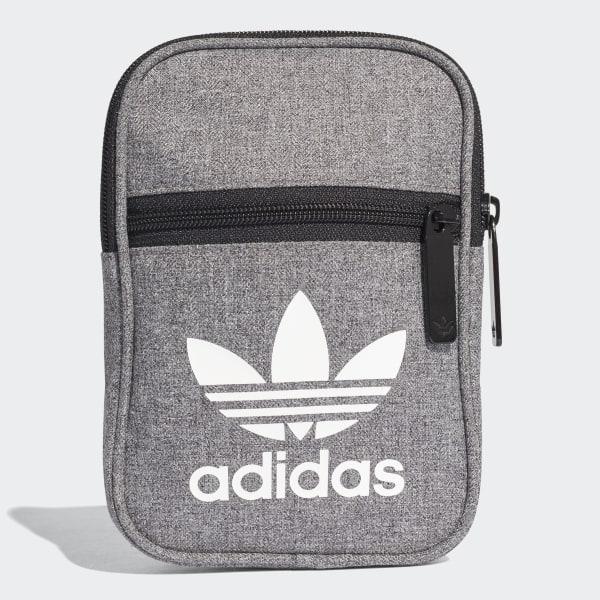 fb8914ebf6 adidas Trefoil Casual Festival Bag - Black
