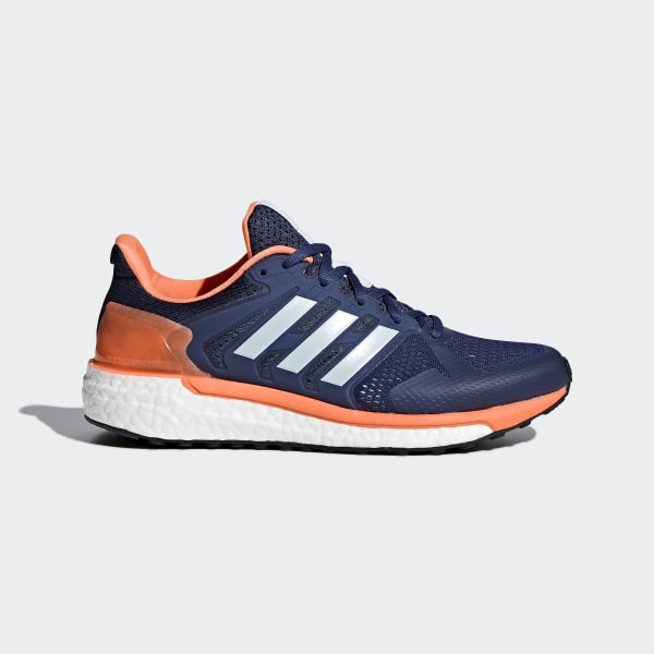 0072c3a37 Supernova ST Shoes Noble Indigo   Aero Blue   Hi-Res Orange CG4037