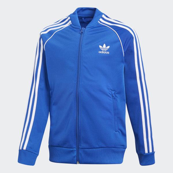 Jaqueta SST - Azul adidas  0e72595a6663d