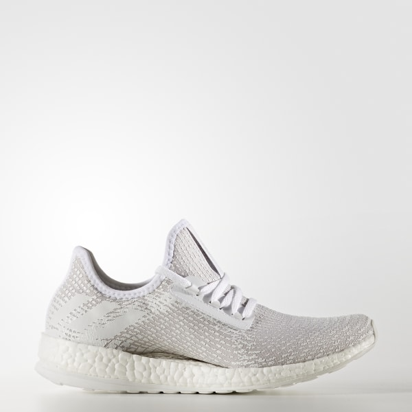 Pure Boost X Schuh Ftwr White Crystal White Pearl Grey BB3432 327bdefb17