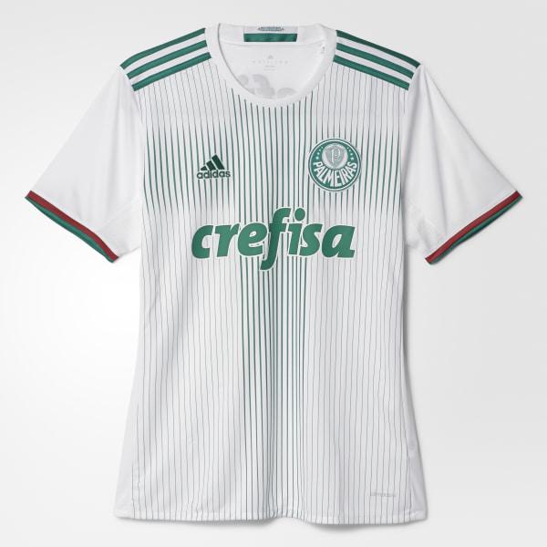 Camisa Palmeiras 2 WHITE BOLD GREEN SCARLET AI9180 74d3ca1c6cd8a