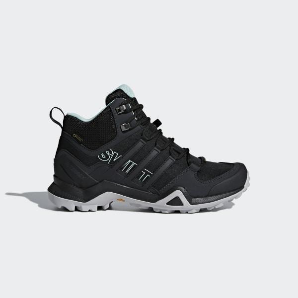 1231815b68b4a Terrex Swift R2 Mid GTX Shoes Core Black   Core Black   Ash Green CM7651